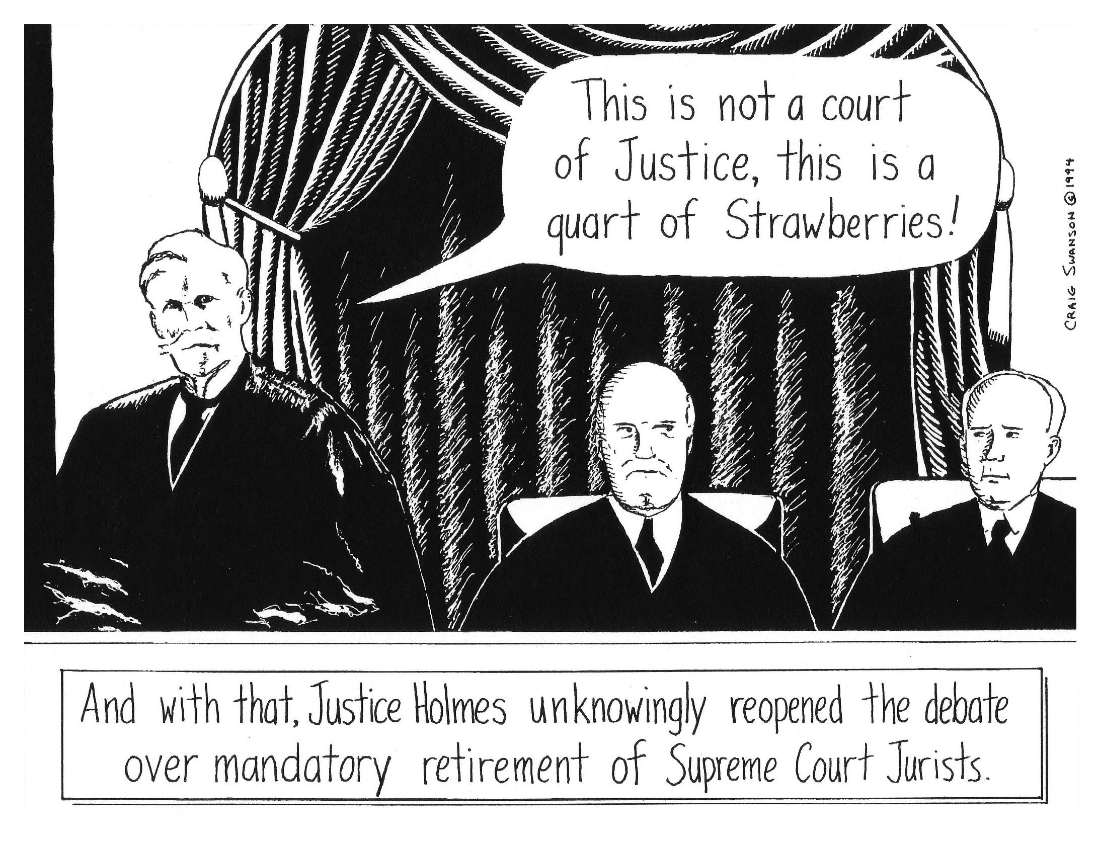 Justice Holmes