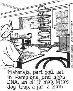 Maharaja, Part God...