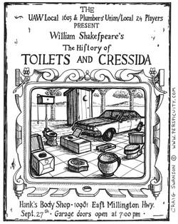 Toilets and Cressida
