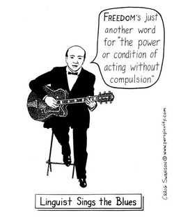 Linguist Sings the Blues