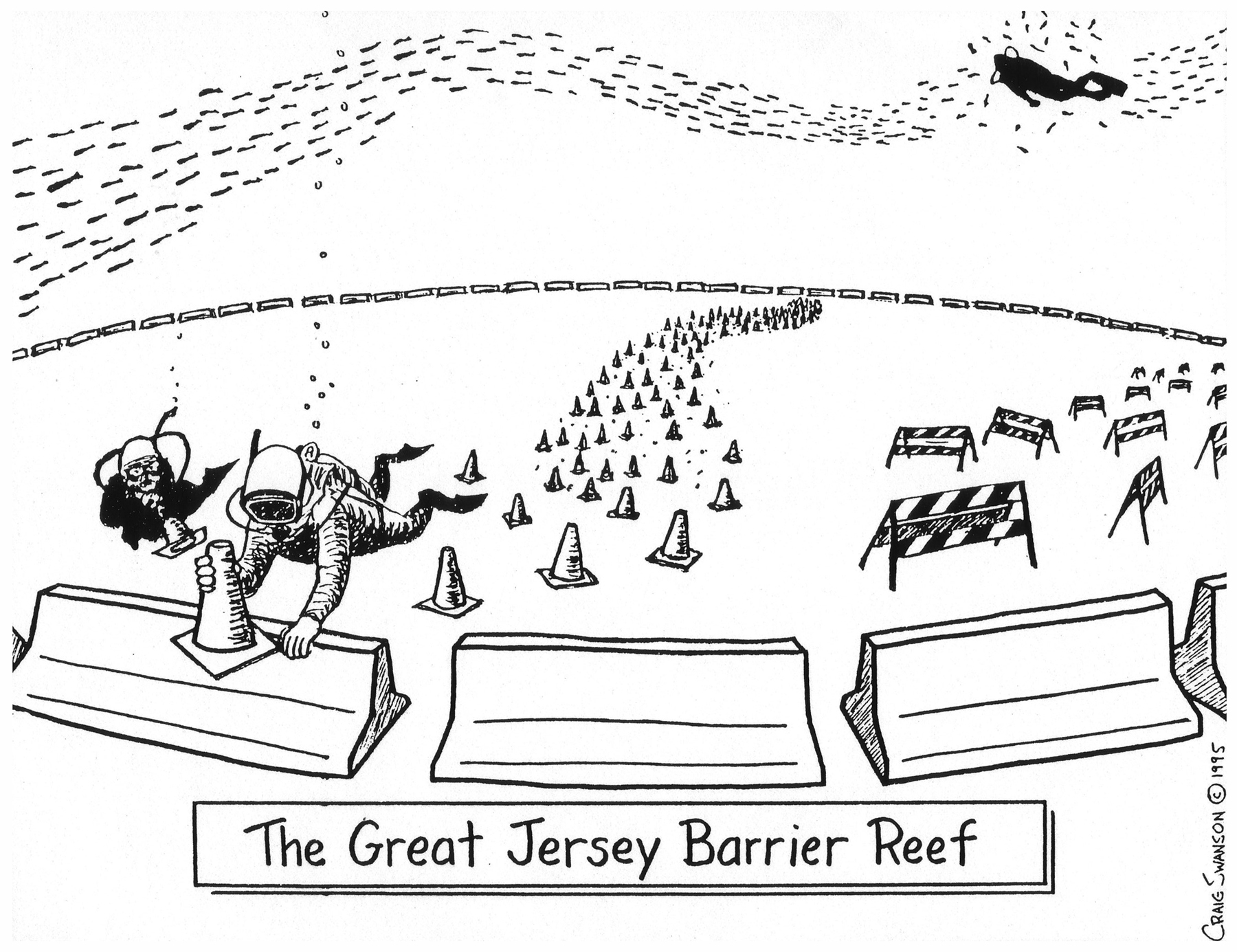 The Great Jersey Barrier Reef