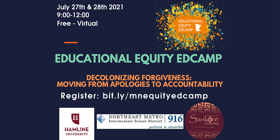 MN Educational Equity Edcamp 2021