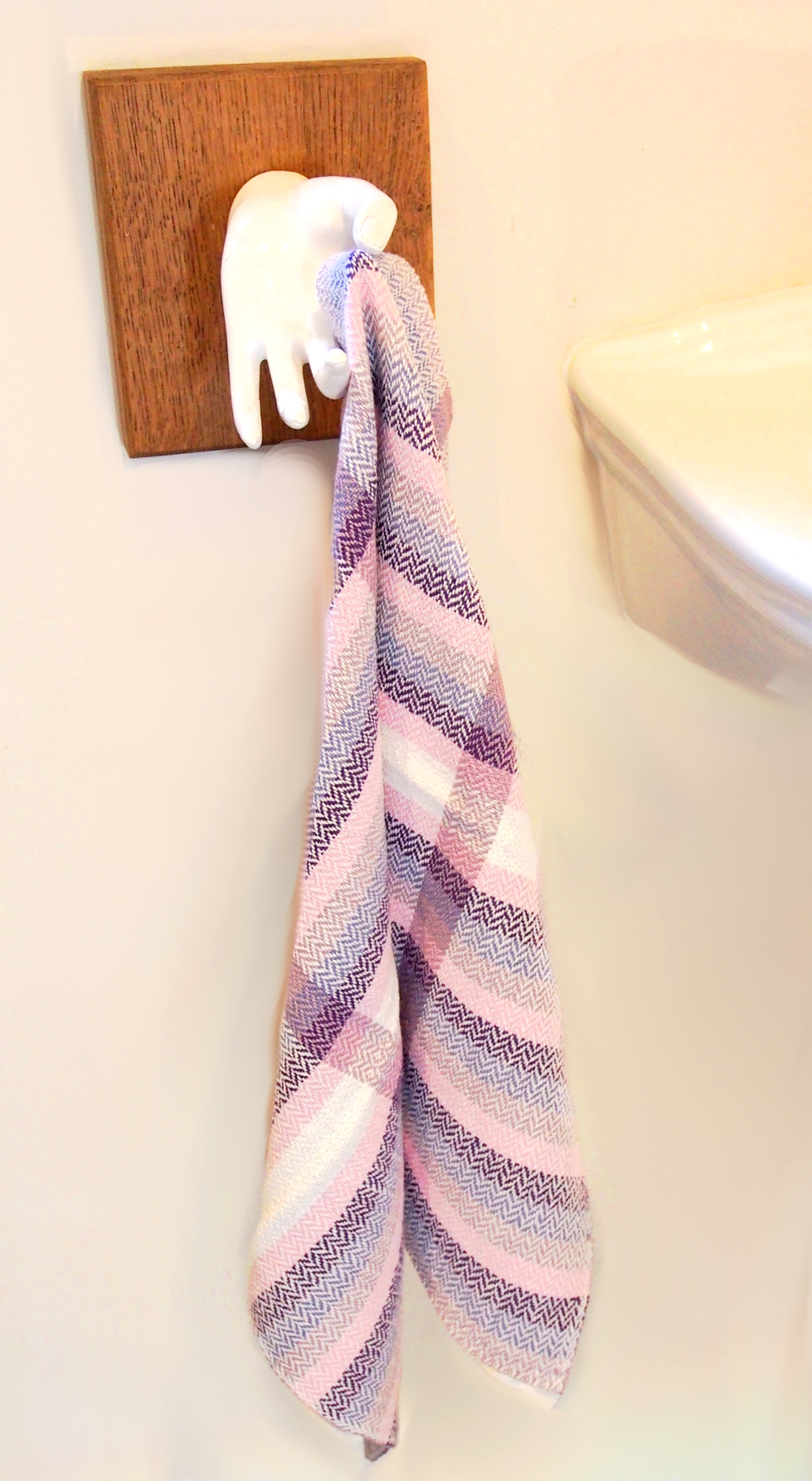 Blackberry hand towel