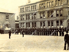 Boer War medal presentation parade
