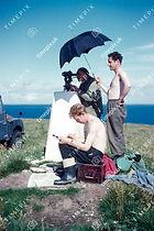 Fred Joyce, Frank Murphy and Dave Broadley, Eday