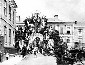 1890 decoration for Princess Beatrice visit