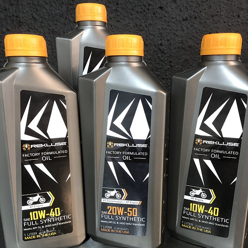 Rekluse Full Synthetic Oil