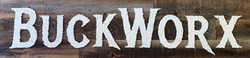 BuckWorx Wooden Sign 1