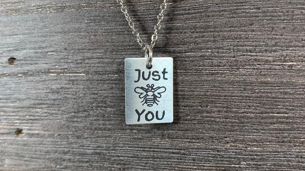 Just Be You Pendant