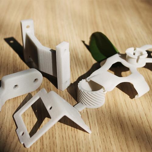 SLS Nylon Print Samples
