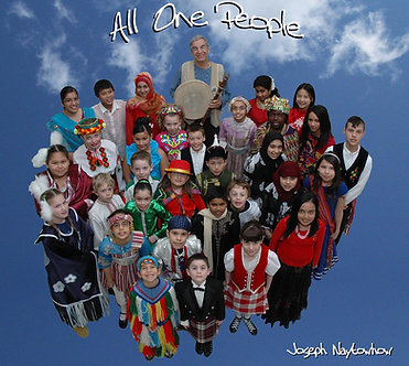All One People CD $19.95