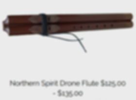 Spirit Drone Flute $125.00 - $135.00.PNG