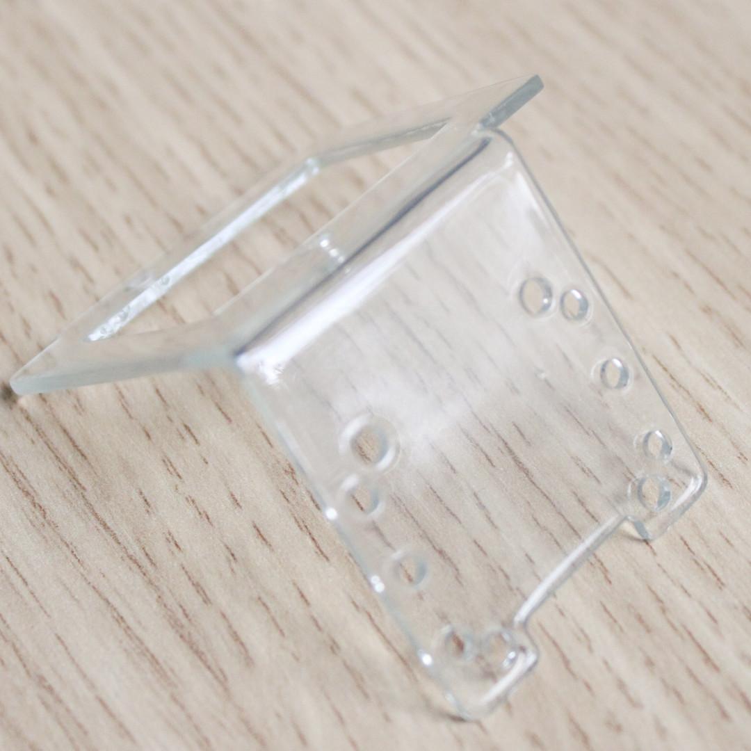 SLA Clear Resin Transparent Print Sample