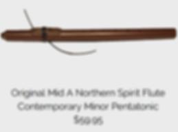 Northern Spirit Flute Mid A