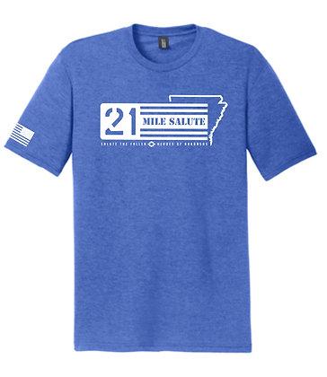21 Mile Salute Blue