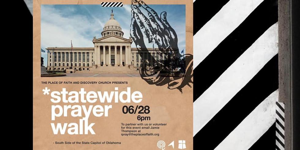 Statewide Prayer Walk