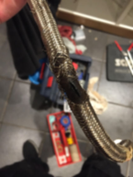 BDJ Plumbing Services Exeter, Burst Flexible tap tail.jpg
