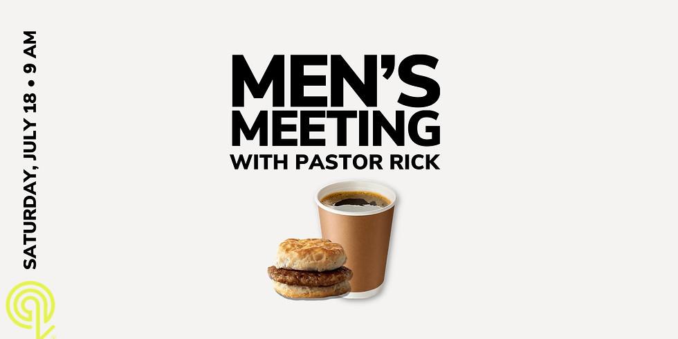 Men's Meeting 9:00AM