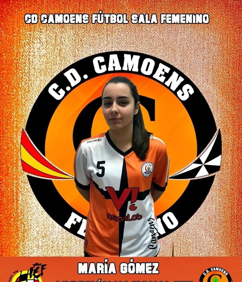 MARÍA GÓMEZ -CD CAMOENS SENIOR-