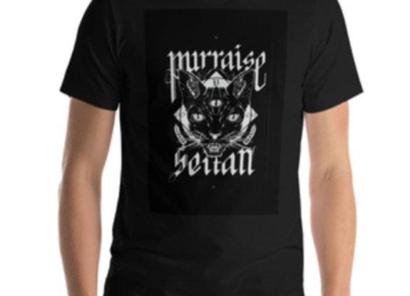 Black Purraise Premuim Unisex Tee