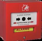 Boitier Alarme Incendie   Déclencheur manuel   Alerte Eau Feu