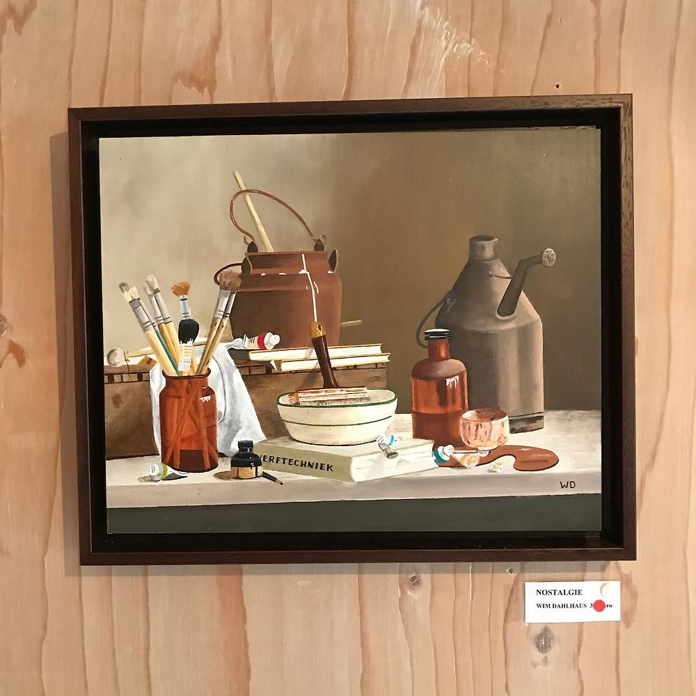 schilderij Wim Dahlhaus