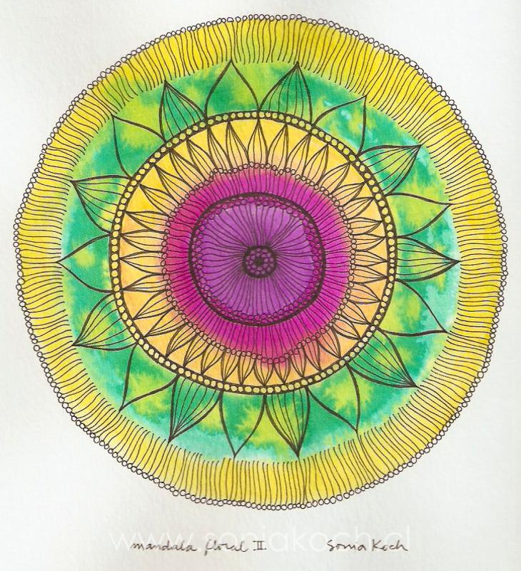 Mandala Floral II