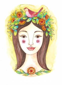 Mujer Coronada