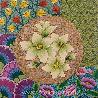 Mandala Flora V