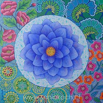 Mandala Floral I