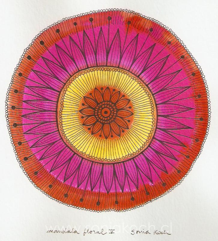 Mandala Floral III