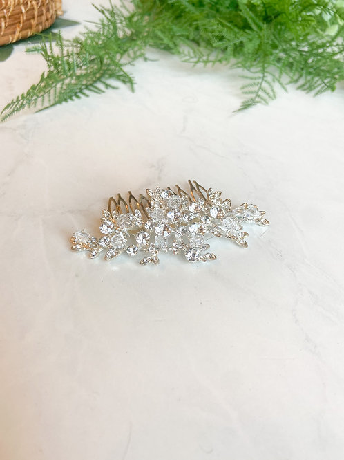 Small Gold Bridal Hair Piece