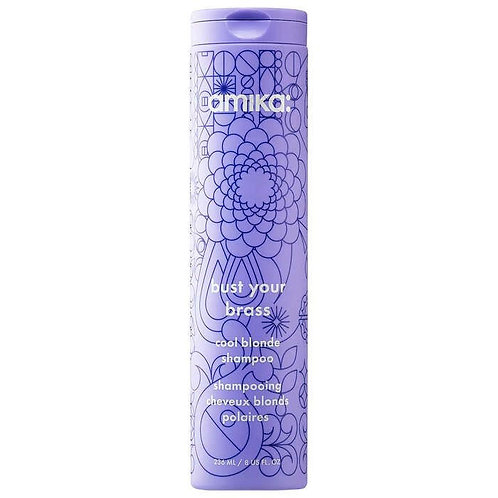 amika: bust your brass cool blonde shampoo