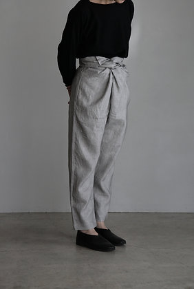 COSMIC WONDER /Light Sumikuro Wrapped Pants