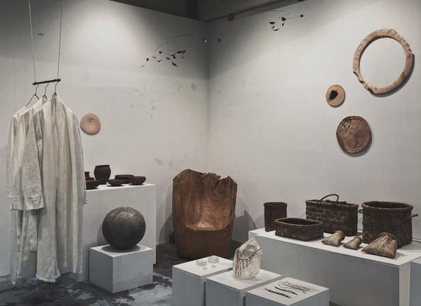 『青花の会 - 工芸祭 2020』 / 展示風景