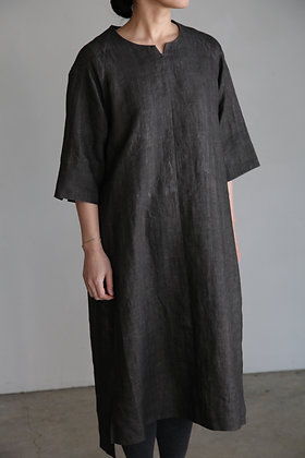 COSMIC WONDER / Dark Sumikuro smock dress
