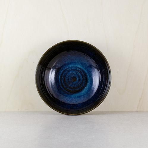 Velké misky s glazurou midnight blue