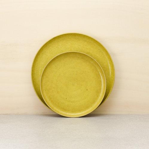 Talíř dezertní žlutý