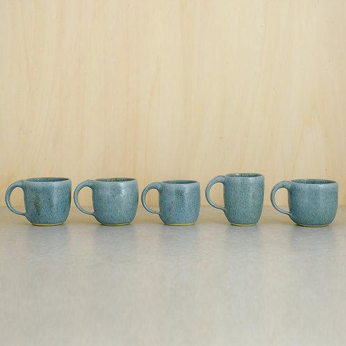 """Hrnky na espresso v glazuře """"Blue Moon"""""""