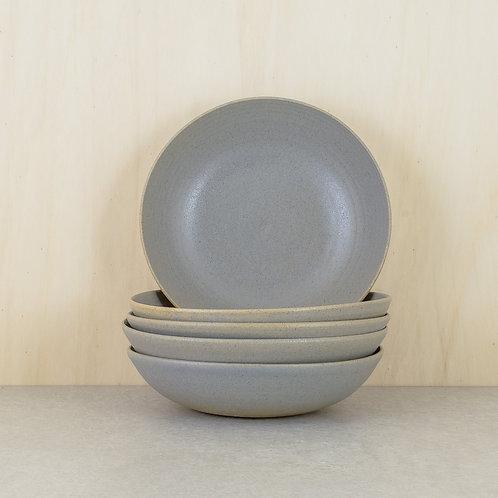 Talíř polévkový šedý
