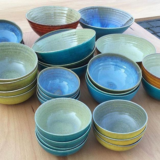 do you like #colours #bowls #pottery #ce