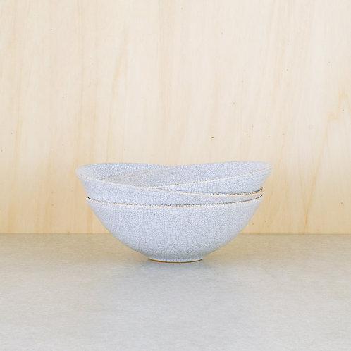 Misky bílé kraklované ∅ 18 cm