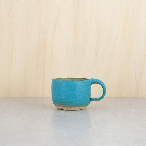 Tyrkysové hrnky na kávu 250 ml