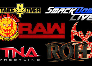 My Top 5 Favorite Pro Wrestlers