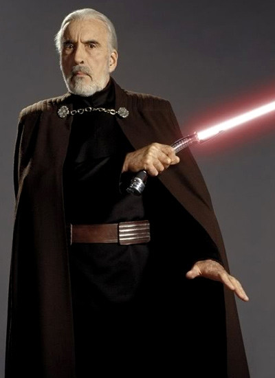 Lee as Count Dooku