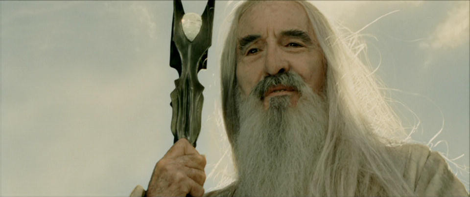 Lee as Saruman