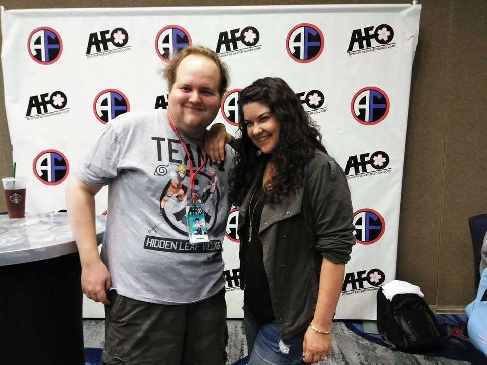 Me with Colleen Clinkinbeard