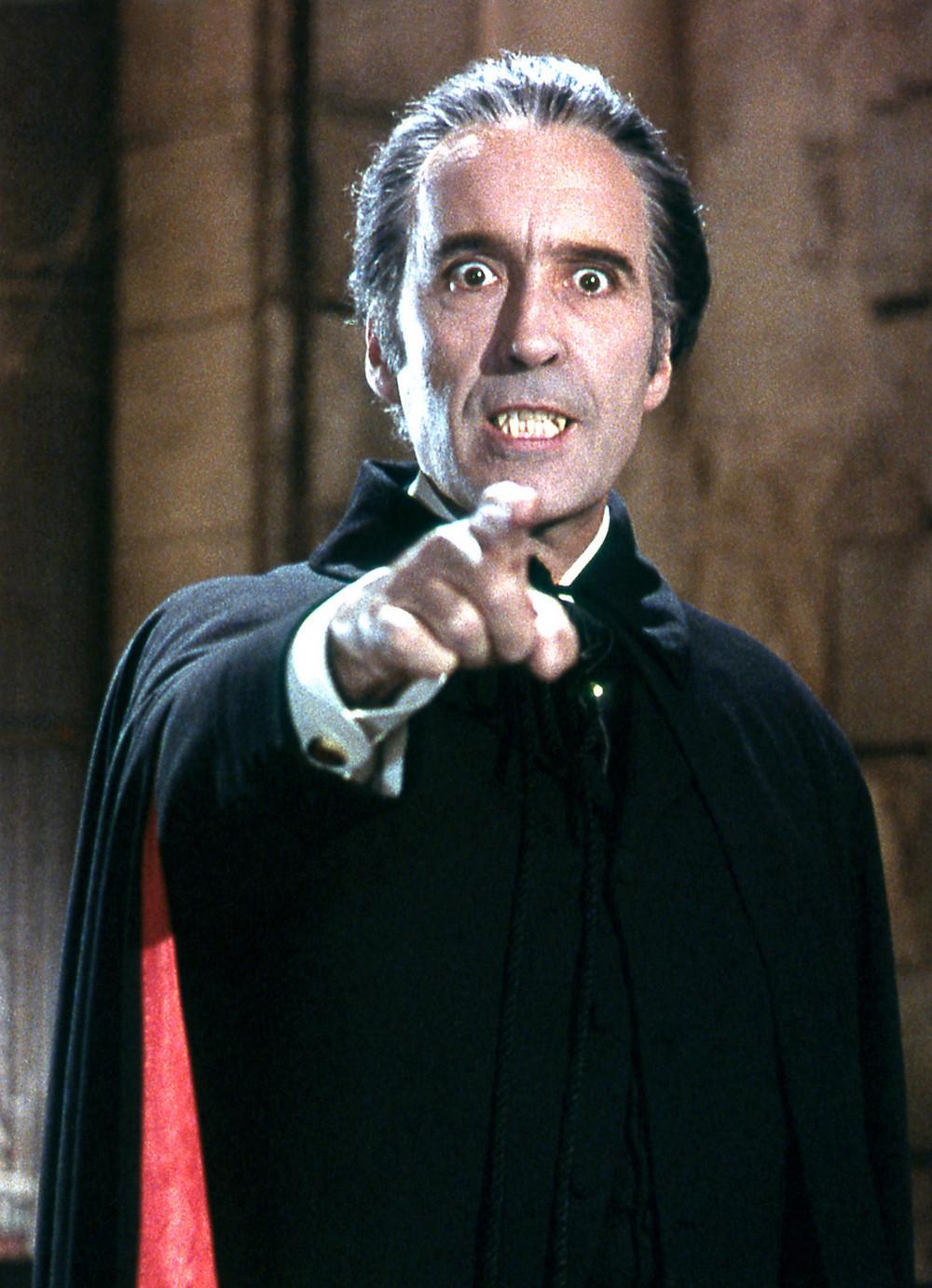 Lee as Dracula