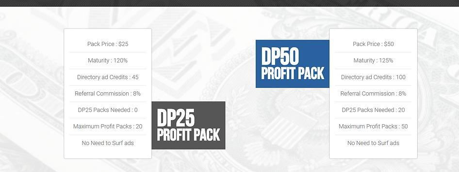 Diversity Fund Club profit packs.PNG