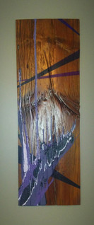 Abstract on Wood #1